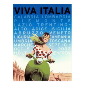 Carte Postale Voyage vintage Italie -