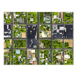 Carte Postale Vue aérienne -