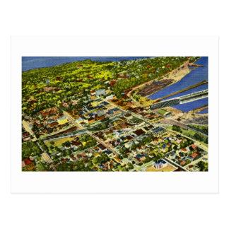 Carte Postale Vue aérienne de Marquette, Michigan