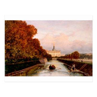 Carte Postale Vue au château de Michael à Pétersbourg de Lebiaz