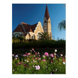 Carte Postale Vue d'angle faible de l'église du Christ