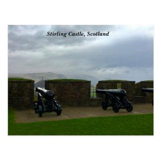 Carte Postale Vue de château de Stirling de monument Ecosse de