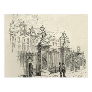 Carte Postale Vue de face de Buckingham Palace