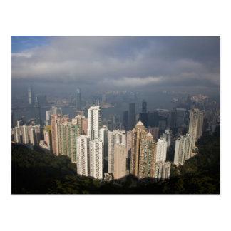 Carte Postale Vue de Hong Kong de la crête