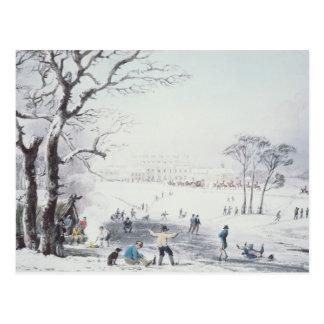 Carte Postale Vue de la Chambre de Buckingham, parc de James en