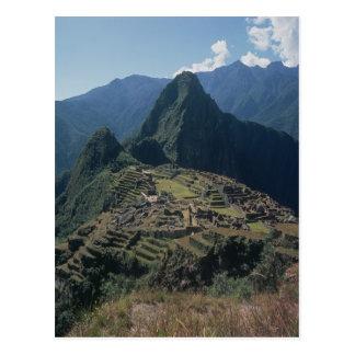 Carte Postale Vue de la citadelle chez Machu Picchu