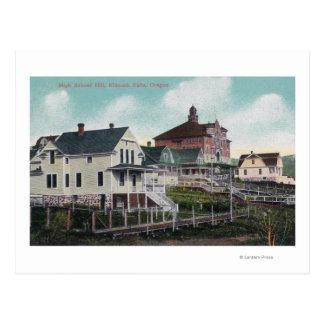 Carte Postale Vue de la colline de lycée, résidences