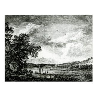 Carte Postale Vue de la rivière du Hudson de Pakepsey