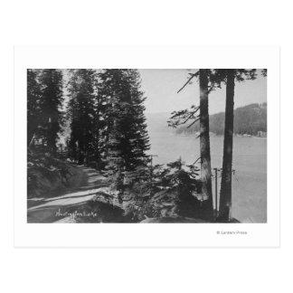 Carte Postale Vue de lac huntington, la Californie de route
