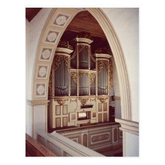 Carte Postale Vue de l'organe dans l'église chez Rotha