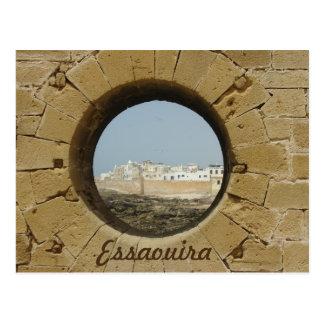 Carte Postale Vue de mur de ville d'Essaouira