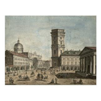 Carte Postale Vue de Nevsky Prospekt, St Petersburg, 1810