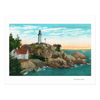 Carte Postale Vue de phare d'Atkinson de point