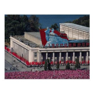 Carte Postale Vue de Pyong Yang, de l'étude h des personnes