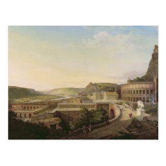 Carte Postale Vue de Vienne en périodes romaines, 1860