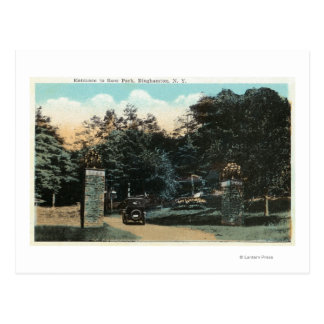 Carte Postale Vue d'entrée de parc de Ross