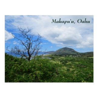Carte Postale Vue d'océan pittoresque de montagnes de Makapuʻu