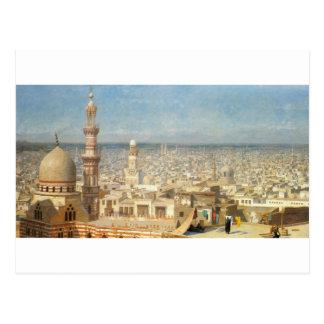 Carte Postale Vue du Caire par Jean-Léon Gerome