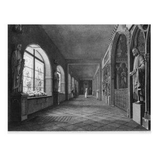 Carte Postale Vue du cloître, monuments de DES de Musee