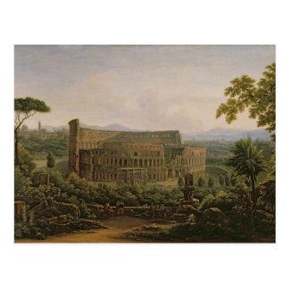 Carte Postale Vue du Colosseum de la colline de Palatine