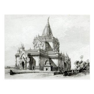 Carte Postale Vue du nord-est de temple de Gaudapalen au païen