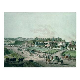Carte Postale Vue du palais d'Augarten et du parc, Vienne