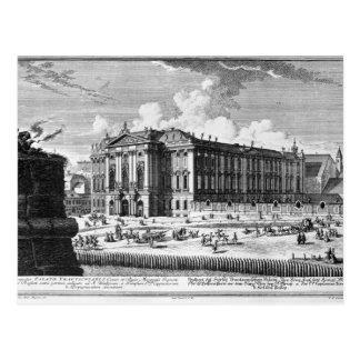 Carte Postale Vue du palais de Trautson construit pour le compte