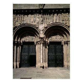 Carte Postale Vue du portique de las Platerias