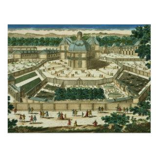 Carte Postale Vue et perspective du salon de la Menagerie