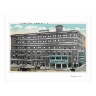 Carte Postale Vue extérieure de l'hôtel d'Arlington