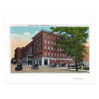 Carte Postale Vue extérieure de l'hôtel de Carlton