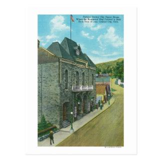 Carte Postale Vue extérieure du théatre de l'opéra célèbre