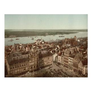 Carte Postale Vue générale d'Anvers I, Belgique