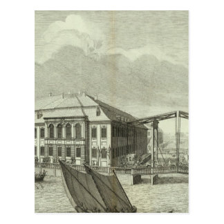Carte Postale Vue gravée du St Petersbourg 4