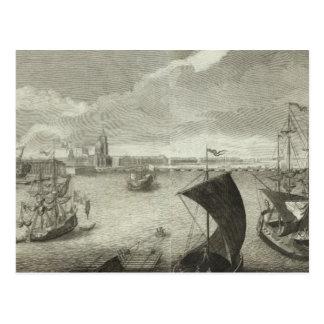 Carte Postale Vue gravée du St Petersbourg 5