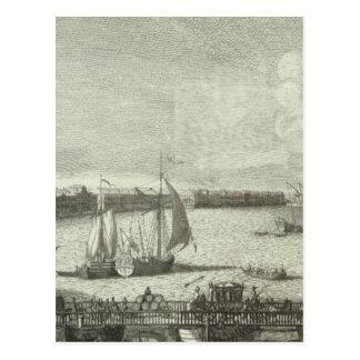 Carte Postale Vue gravée du St Petersbourg 6