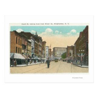 Carte Postale Vue orientale de rue de cour de rue de l'eau