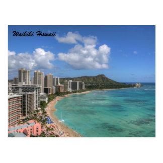 Carte Postale Waikiki