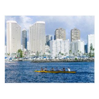 Carte Postale Waikiki Hawaï
