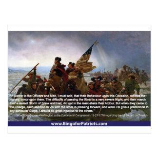 Carte Postale Washington croisant le Delaware #1