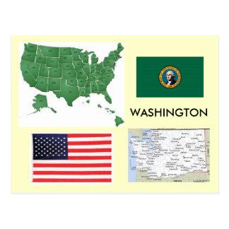 Carte Postale Washington, Etats-Unis