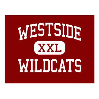 Carte Postale Westside - chats sauvages - haut - Memphis