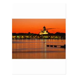 Carte Postale Wilight d'Orang, Helsinki, Finlande