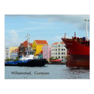 Carte Postale Willemstad, Curaçao
