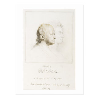 Carte Postale William Blake (1757-1827) dans la jeunesse et
