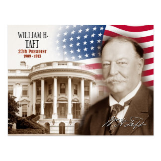 Carte Postale William Howard Taft - 27ème président des