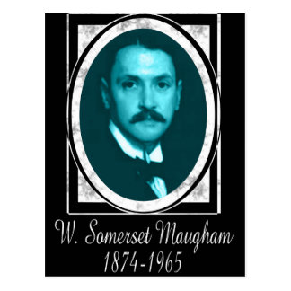 Carte Postale William Somerset Maugham