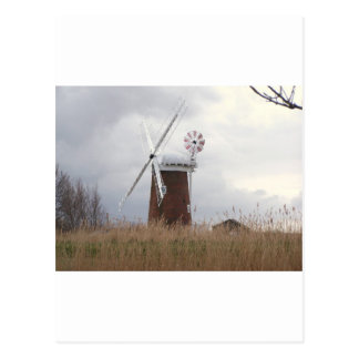 Carte Postale Windpump chevalin Norfolk