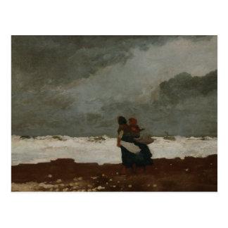 Carte Postale Winslow Homer - deux figures de la mer