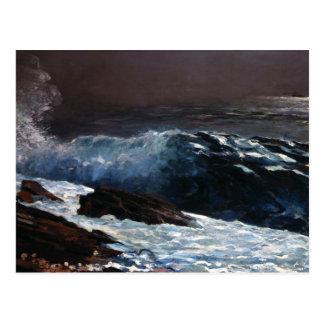 Carte Postale Winslow Homer - lumière du soleil sur la côte